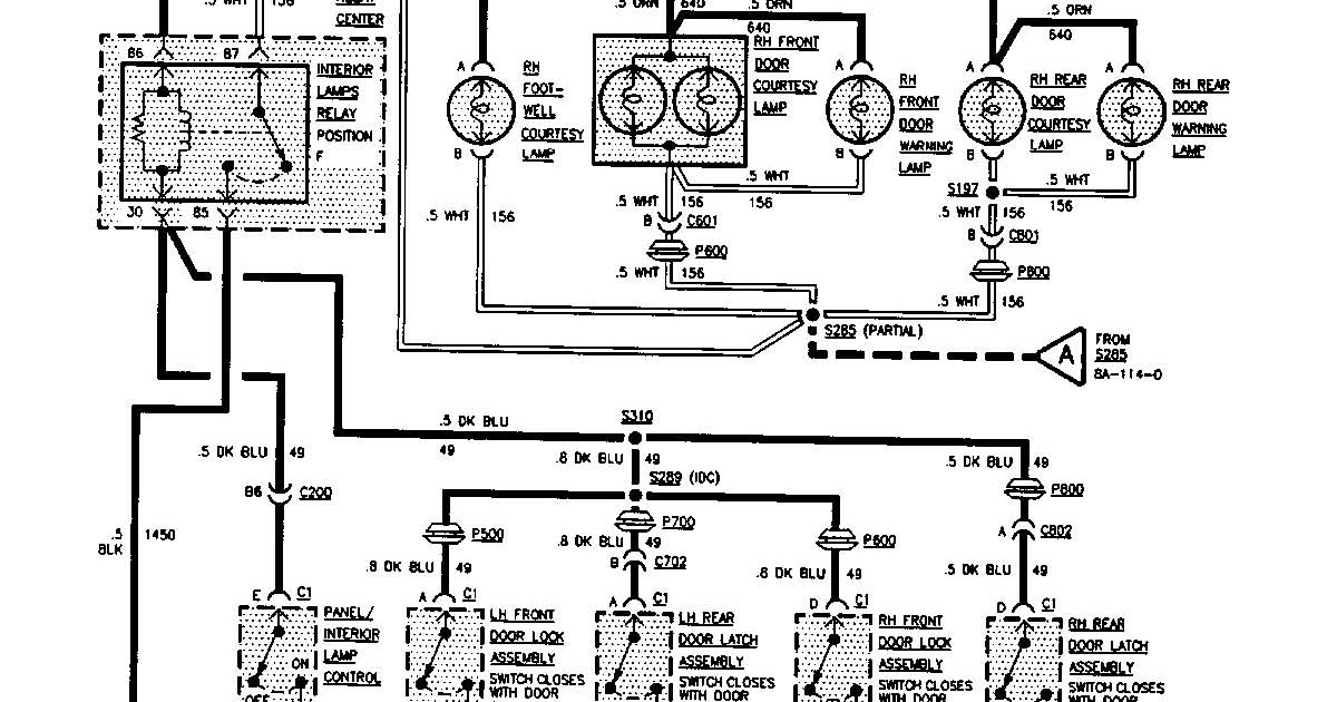 1995 Buick Park Avenue Starter Wiring Diagram