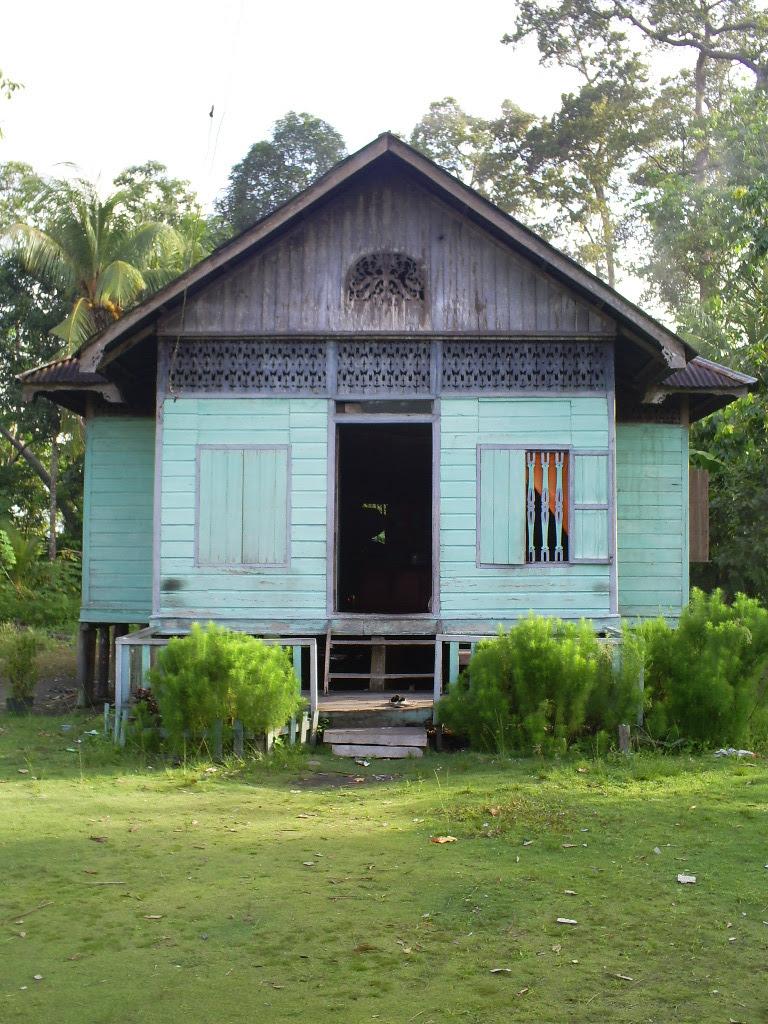 Gambar Rumah Limas : gambar, rumah, limas, Gambar, Rumah, Melayu, Limas, Potong, Terbaik
