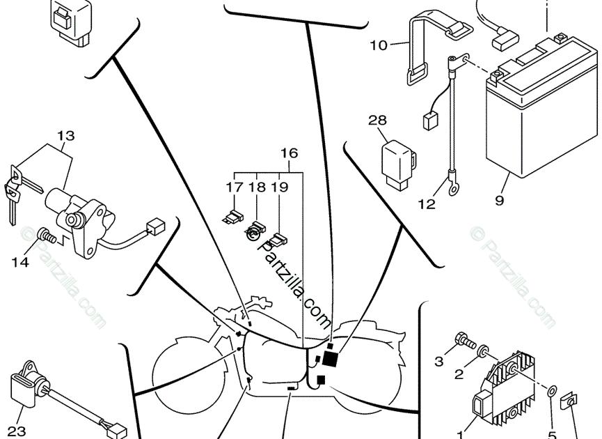 Wiring Diagram PDF: 2002 Yamaha 1100 Wiring Diagram