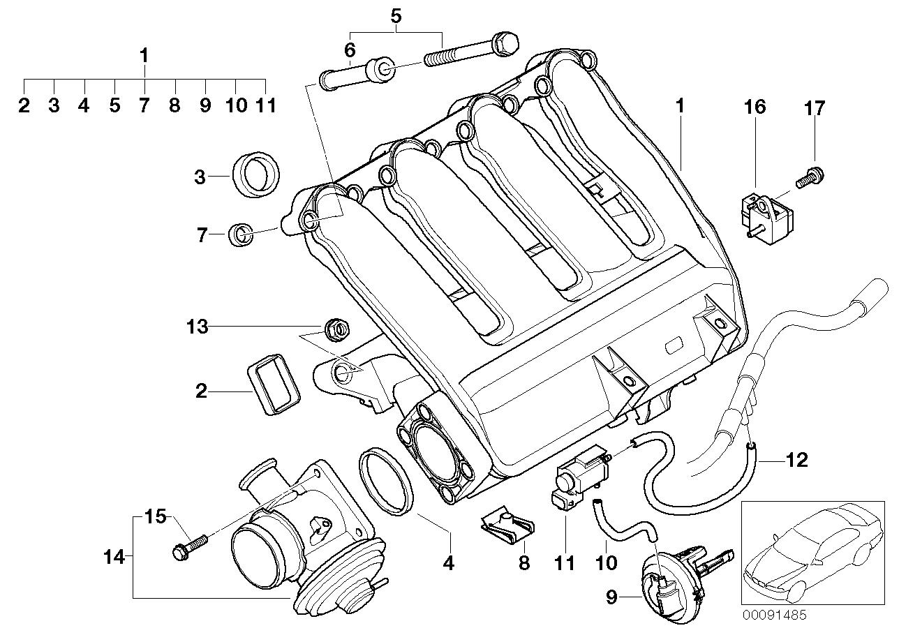 2000 Bmw 323i Vacuum Hose Diagram Wiring Schematic