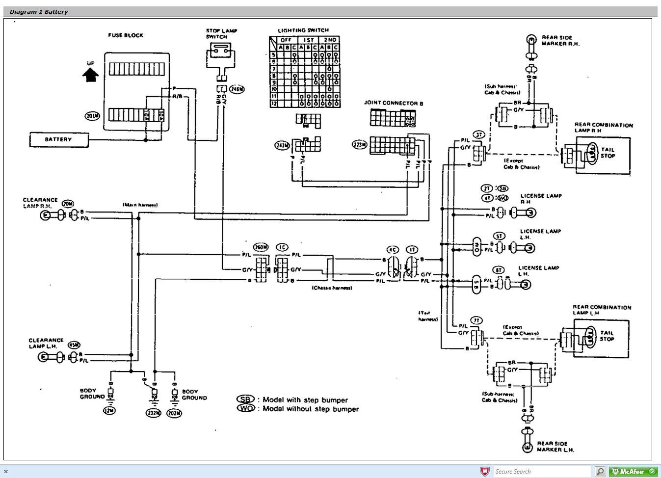 2007 Ford Ranger Fuse Box Diagram