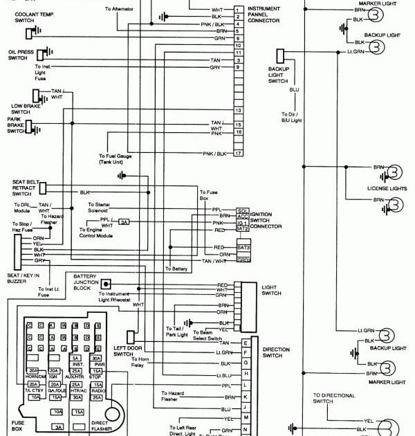 Blazer Trailer Lights Wiring Diagram : 97 Blazer Ignition