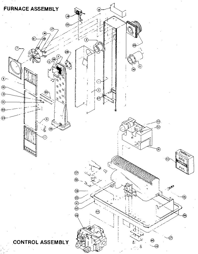 Wiring Diagram: 26 Williams Wall Furnace Parts Diagram