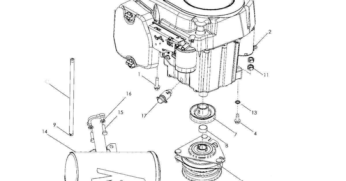 Kohler Engine Parts Diagram : Kohler KT735-3049 MTD 24 HP