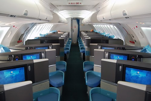 Travelrewards Cathay Business Class 747 Upper Deck