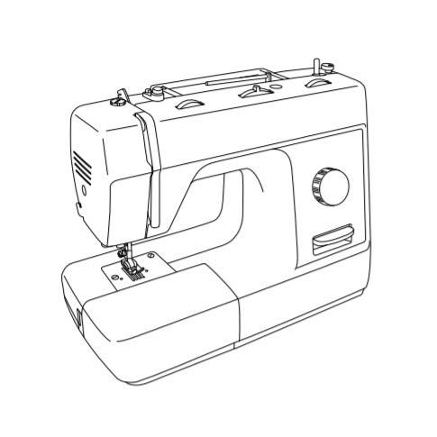 Lockstitch Sewing Machine Parts Drawing