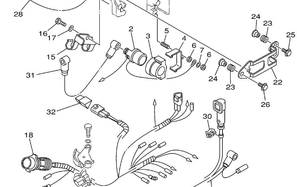 Yamaha Outboard Electrical Wiring Diagram / 2003 Yamaha