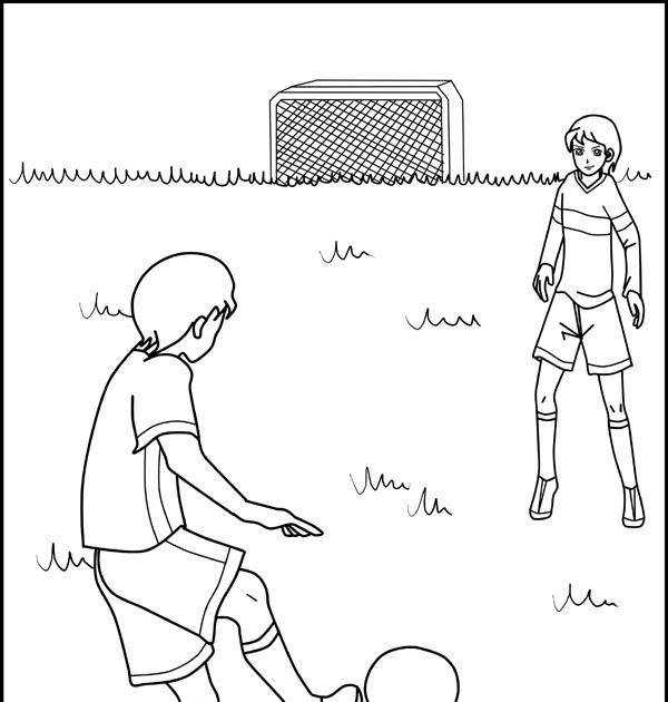 Fußball Malvorlagen Ausdrucken - Vorlagen zum Ausmalen