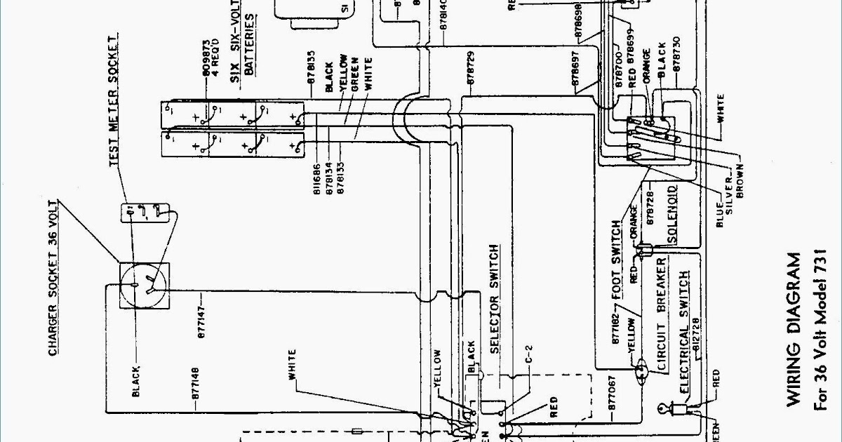 1998 Ez Go Wiring Diagram