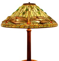 antique lamp lighting: ANTIQUE TIFFANY STYLE LAMP SHADES