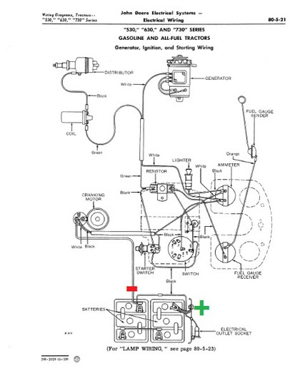 Tractor Positive Ground Wiring Diagram For Basic