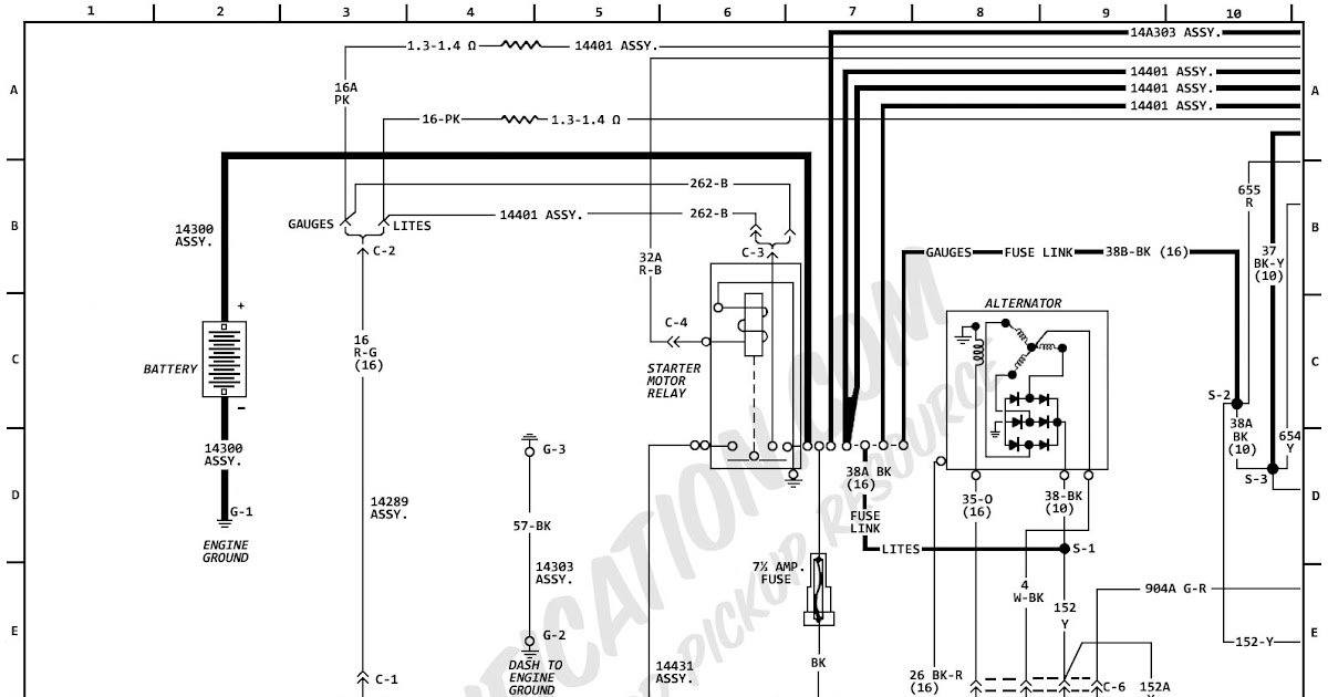 50+ Ford F100 Turn Signal Wiring Diagrams