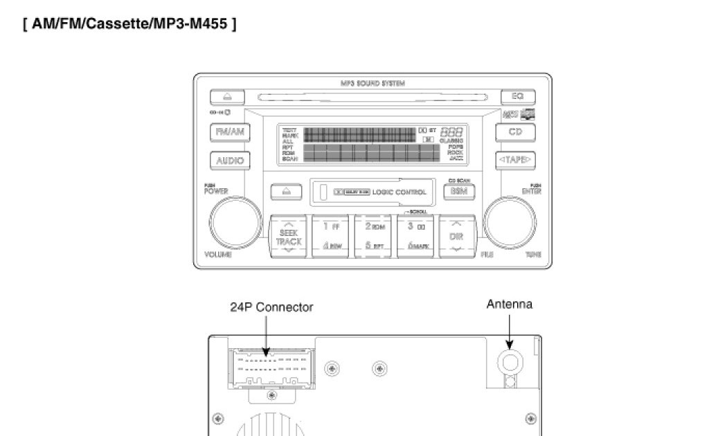 Wiring Diagram Forradio/Satnav Model Xtrons Pds70Trv