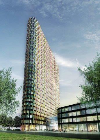 Hochhauswelten Dsseldorf  UpperNord Tower  120m