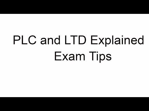 PLC and LTD Explained|Sense Business Studies