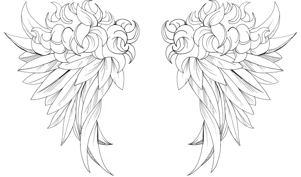 celebrity and wallpaper: angel wings