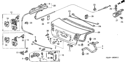 Get 98 honda civic parts diagram