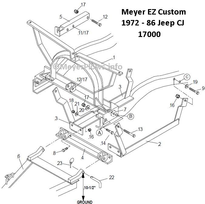 Jeep Cj Drawing