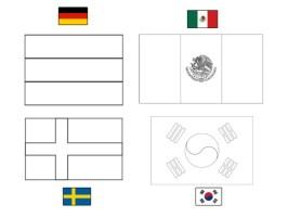 Flaggen Zum Ausmalen Deutschland