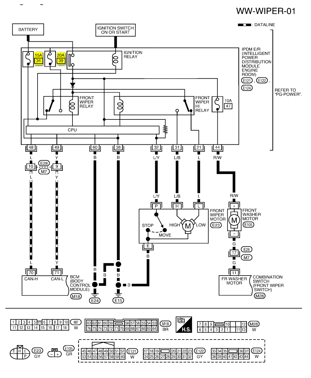nissan almera audio wiring diagram contactor windshield wiper motor stream