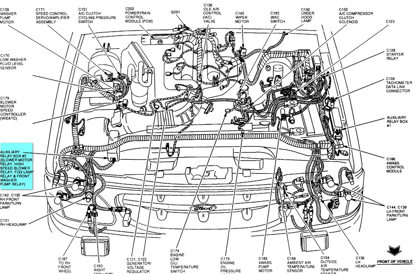 Diagram Ford Explorer Engine