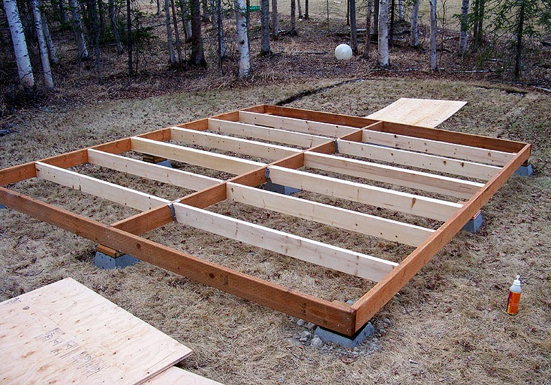 Build How to build garden shed floor  Haddi