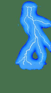 Anime Lightning Png : anime, lightning, Anime, Lightning, Effect, Wallpapers