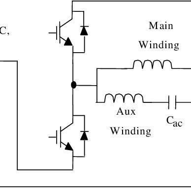 Psc Motor Wiring Diagram : Permanent Split Capacitor Motor
