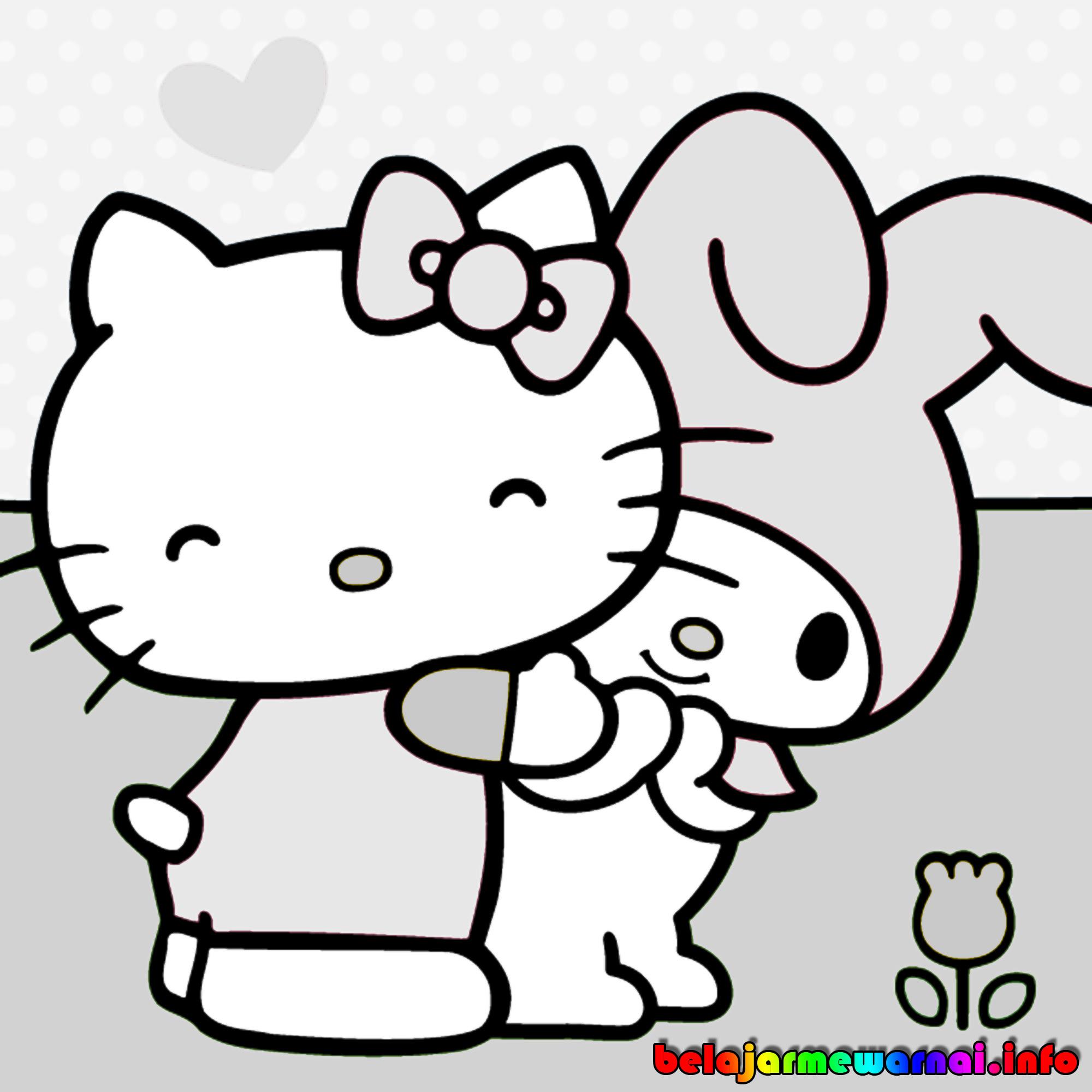 Kumpulan Gambar Kartun Hello Kitty Yang Lucu  Himpun Kartun