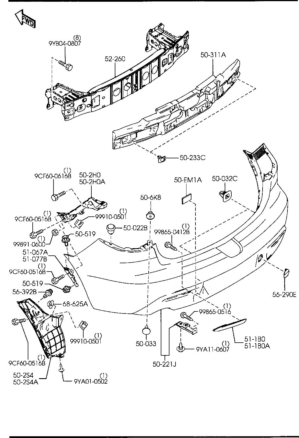 Coffe Mazda: Mazda 3 Body Parts Diagram