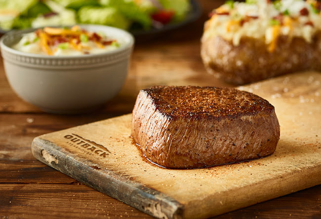 Freddy's: Outback: $14.99 Aussie 4-Course Meal