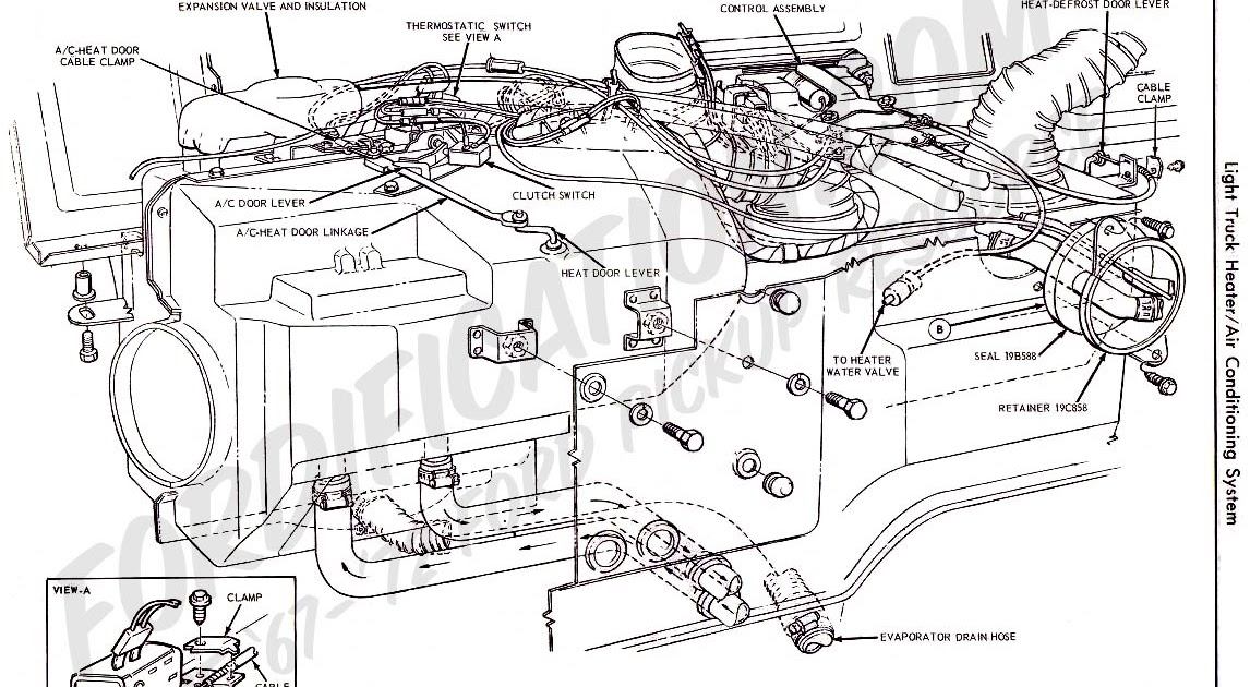 Wiring Diagram: 6 Ford F350 Air Conditioning Diagram