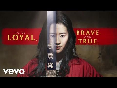 【歌詞翻譯】Christina Aguilera - Loyal Brave True 花木蘭主題曲 中英文歌詞Lyrics - 拉里拉雜