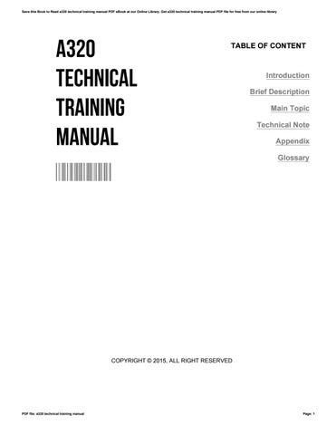 A320 Technical Training