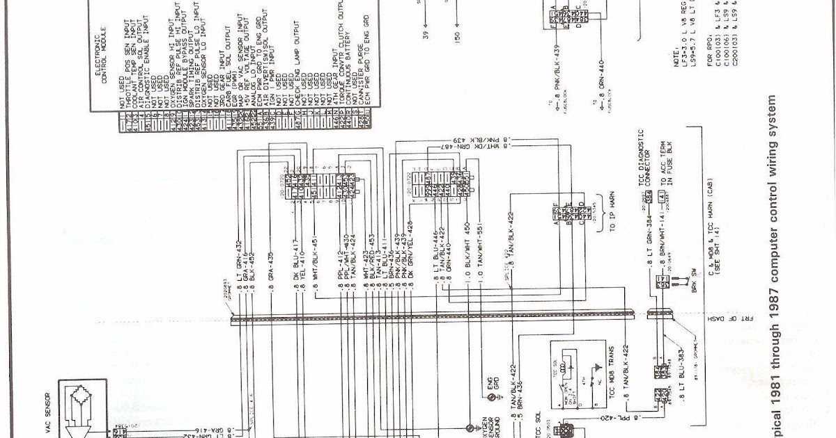 1987 Toyota Pickup Electrical Wiring Diagram 87