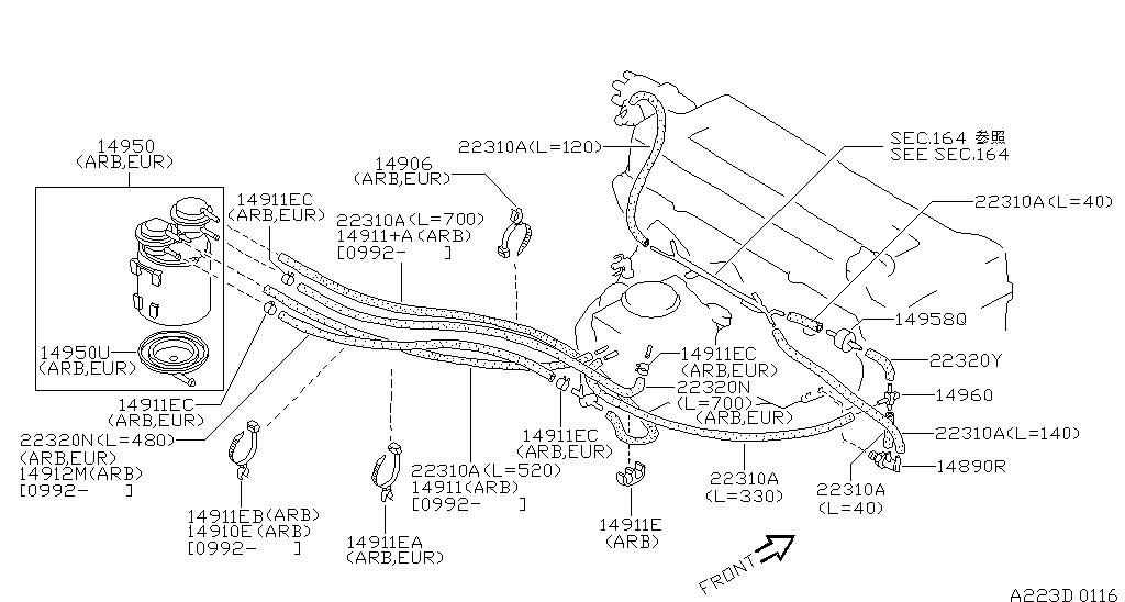 Nissan B13 Carburetor Diagram