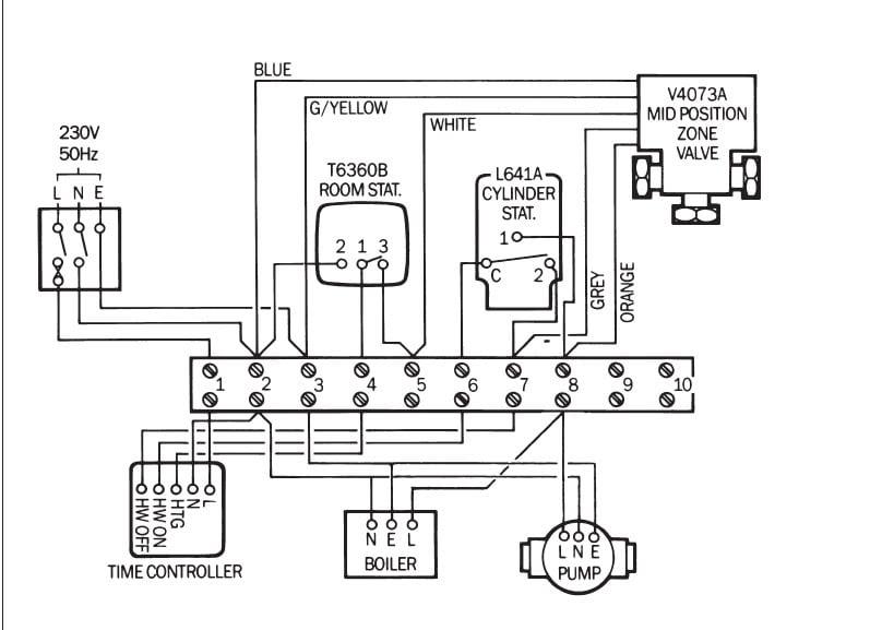Miscella: Worcester Bosch Pump Overrun Wiring