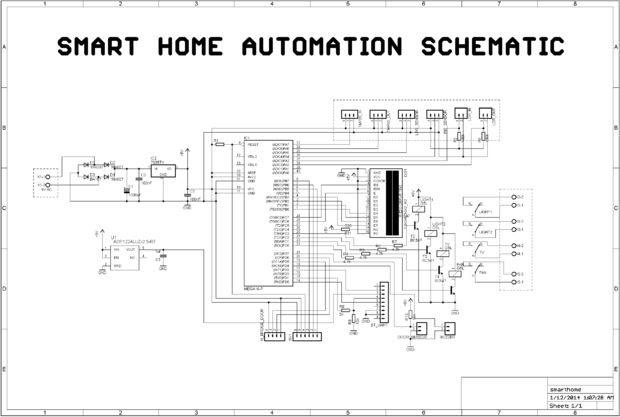 Home Automation Schaltplan