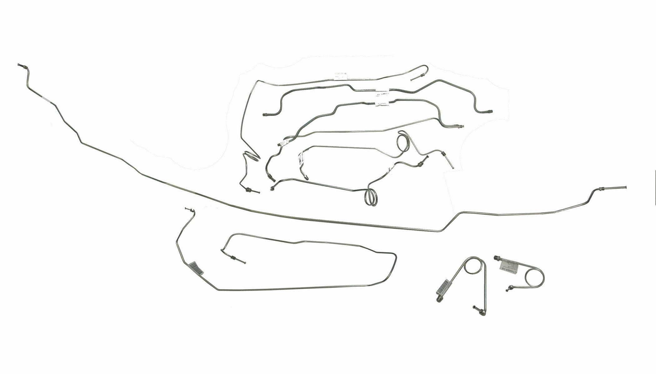 Hummer H2 Brake Line Diagram