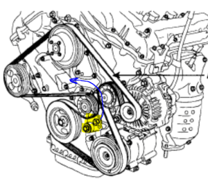 BELT DIAGRAM FOR 2000 HYUNDAI SONATA