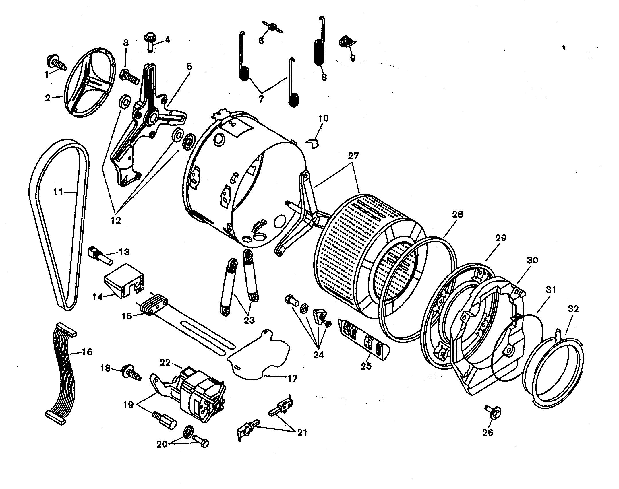 Washing Machines: Bosch Washing Machine Parts