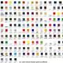 Mr Color Solvent Based Paint Color Chart Mech9