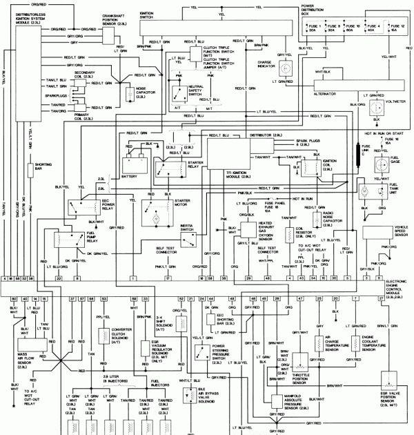 1994 Ford Ranger Trailer Wiring Diagram