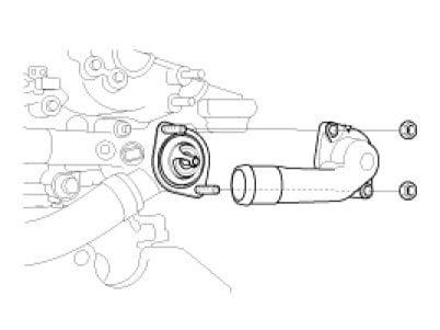 schematics and diagrams: 2009 Kia Spectra: OBD Code P0128?