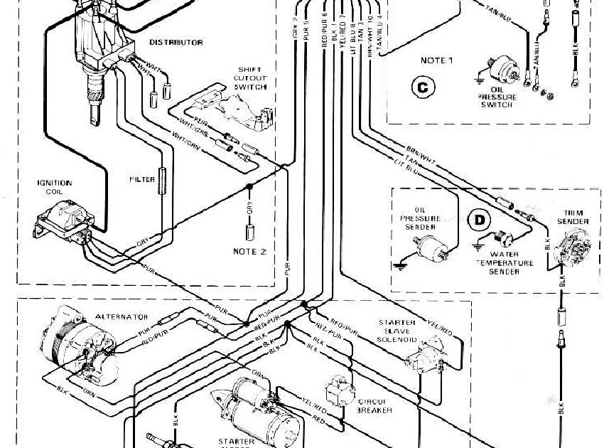 Wiring Diagram For Honda Tach & Trim Meters : Wiring