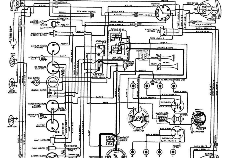 Wiring Diagram PDF: 1939 Cadillac Wiring Diagram