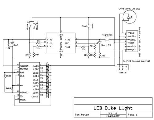 Successlessness: LED bike light project