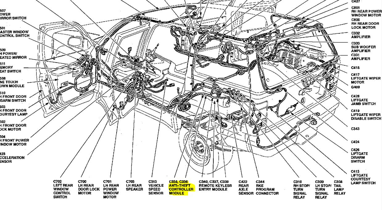 Wiring Diagram: 30 Ford Explorer Parts Diagram