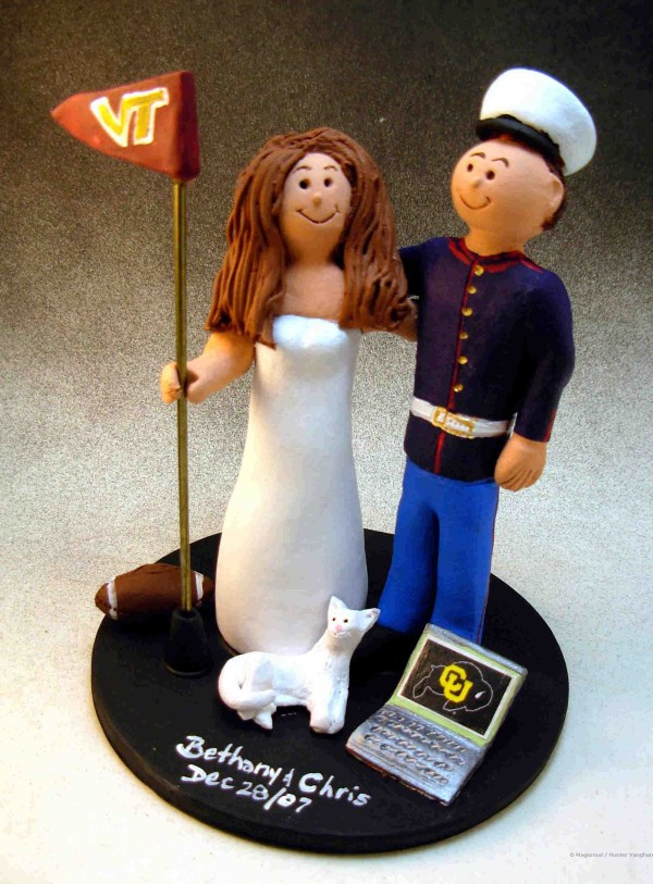Unique Marine Wedding Cake Toppers - Chocolate Recipes