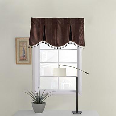 bathroom window curtains chocolate